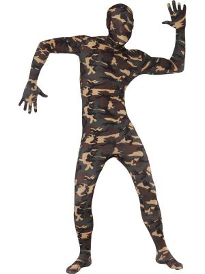 Second Skin Suit, Camouflage